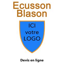 Ecusson brodé blason-old