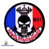 Ecussons militaires armes stratégiques M51
